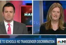 Transgender woman makes a fool of Family Research Council Travis Weber