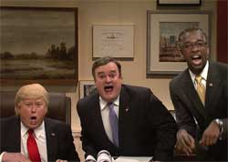 SNL OPEN, Trump VP, Carson, Christie or Zimmerman, May 14 2016
