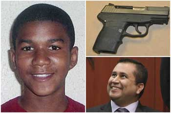George Zimmerman sells Murder weapon to Trump fan for $138,000