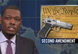 SNL Weekend Update, Guns and Brazil, May 21 2016