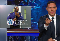 Trevor Noah presents the TSA in action