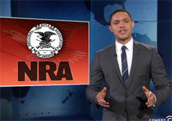 Trevor Noah, Donald Trump and the NRA Louisville Convention
