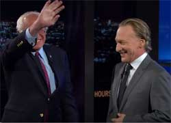 Bill Maher interview with Bernie Sanders, May 27 3016