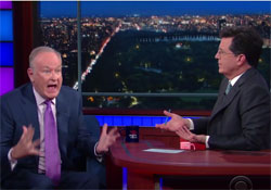 Bill O'Reilly illegal immigrant meltdown with Stephen Colbert