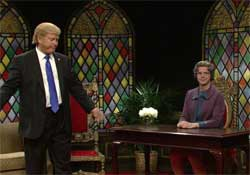 SNL Church Lady, Donald Trump, Isn