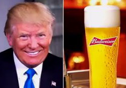Donald Trump, the Face of America, the Beer - John Oliver