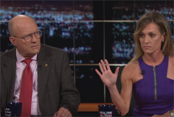 Bill Maher, General Lawrence Wilkerson makes fool of gun enthusiast Emily Miller