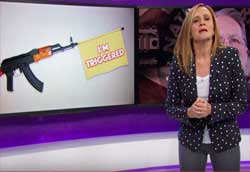 Samantha Bee makes a fool of the NRA again and again