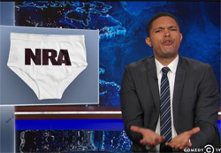 Trevor Noah, the Republicans are in the underwear of the NRA