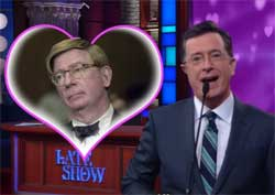 Stephen Colbert, George will unafiliated, single and available