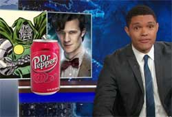 Daily Show, Texas limits Abortion Doctors to Doom, Who and Pepper