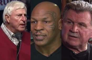 Trump calls Bobby Knight, Mike Tyson, and Mike Ditka to GOP convention