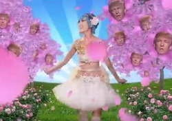 Bizarre Japanese Amime Donald Trump Fantasy by Mike Diva
