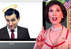 America's Best Christian, Betty Bowers Teaches Conservative Vocabulary 101 - Talking Snakes!