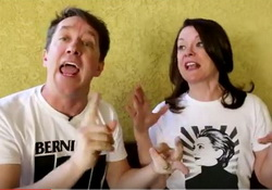 A House Divided, Bernie and Hillary and Andy and Maribeth - comedy video