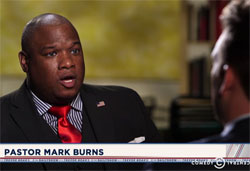 Daily Show Jordan Klepper makes a complete fool of Black Republican Pastor Mark Burns