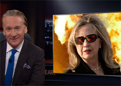 New Rules Bill Maher, The Notorious HRC, July 29 2016