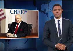 Daily Show, Gretchen Carlson sues Fox News director Creepy Roger Ailes for sexual harassment