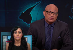Larry Wilmore says goodbye and Goblin Katrina Pierson