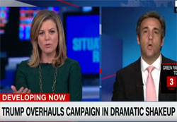 CNN Brianna Keilar makes a fool of Trump lawyer Michael Cohen
