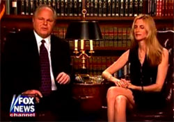 Ann Coulter's new book IN TRUMP WE TRUST now a bust getting Rush Limbaugh on a laughing jag