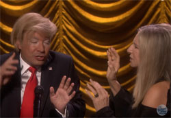 Barbra Streisand and Prima Donnald duet, I can do anything better than you