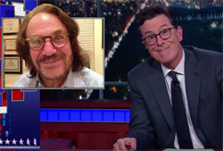 Stephen Colbert makes a fool of Trump Doctor Harold Bornstein