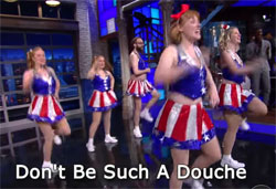 Stephen Colbert, USA Freedom Grown-ups sing for Donald Trump