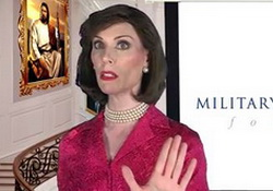 Betty Bowers Rebukes the Military Religious Freedom Foundation, Onward, Christian Soldiers!