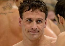 Olympic Swimmer Ryan Lochte,  America