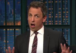 Seth Meyers Taunts Donald Trump to Release Tax Returns - I Think You