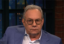 As a friend, Lewis Black tells Trump fans that if they vote for Trump they will go to Hell