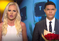 Daily Show Trevor Noah makes a fool of Tomi Lahren