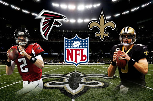 Monday Night Football! Saints vs the Falcons! Tonight 8pm! Don