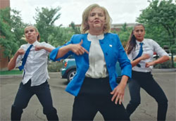 The Donald Trump Hillary Clinton Dance Off video