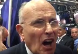 Rudy Giuliani says Trump won the debate and showed has the right temperament to be President!