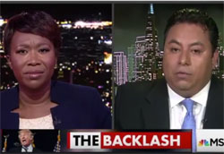 MSNBC Joy Ried makes a fool of Latinos for Trump cofounder Marco Gutierrez