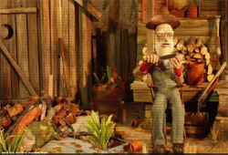 Duck Dynasty Phil Robertson done in stop motion animation