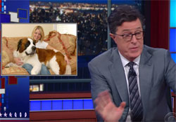 Stephen Colbert makes a fool of Florida Attorney General Pam Bondi