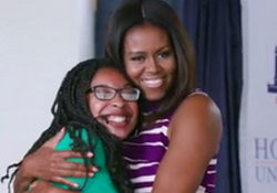 Seth and First Lady Michelle Obama Give College Freshmen Advice
