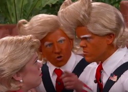The Troompa Loompas Sing About the Presidential Debate - Jimmy Kimmel