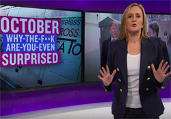 Full Frontal Samantha Bee, the pussy riot