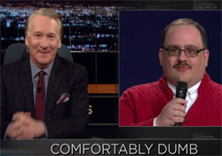 Bill Maher, Bone to pick with undecided, October 14 2016