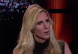 Bill Maher makes a fool of Ann Coulter again, October 14 2016