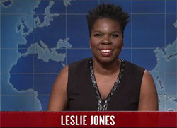 SNL Weekend Update: Leslie Jones responds to Breitbart