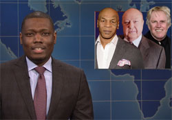 SNL Weekend Update, the media LOVES Donald Trump, October 22 2016