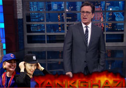 Stephen Colbert: Hillary defeated by blockbuster Yankghazi!