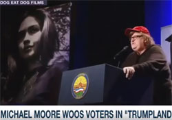 Michael Moore movie, it's misogyny not Mexicans, Muslims or Black Lives Matter