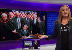 Samantha Bee spins the 3rd debate, part 1 & 2
