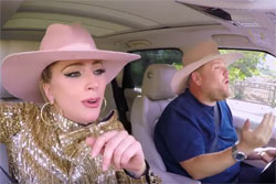Lady GaGa James Corden Karaoke
